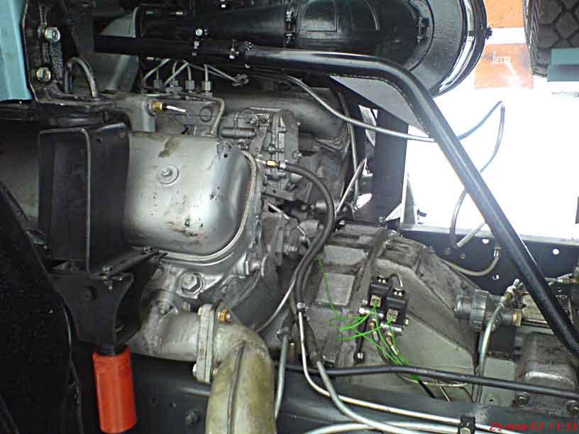 Как сделать двигатель на камазе